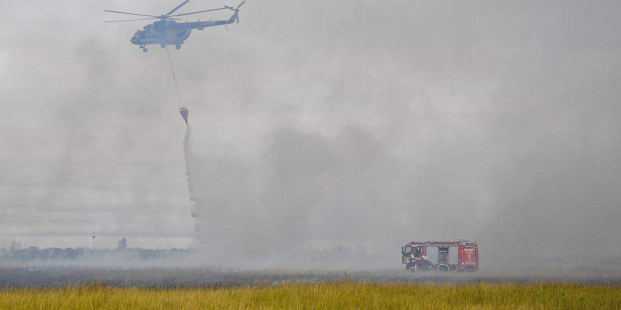 Nearly a thousand hectares of land burned in Hortobágy National Park – PHOTOS