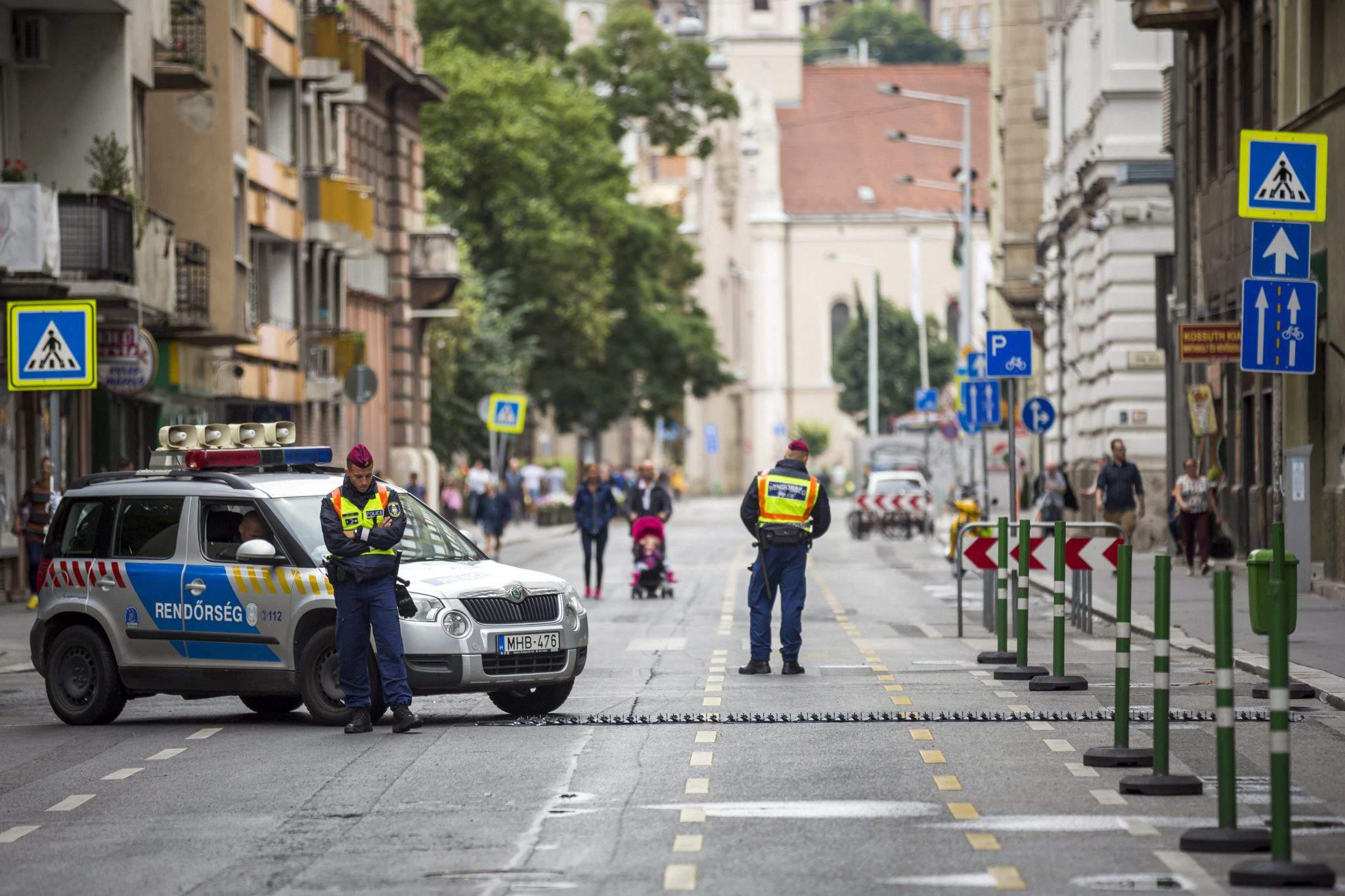 Hungary police