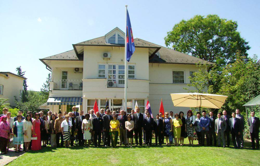 50th anniversary of ASEAN celebrated in Budapest