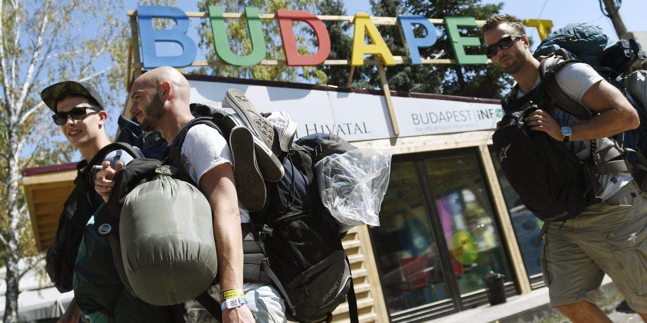 10,000 festival-goers already on Sziget grounds ahead of Budapest event