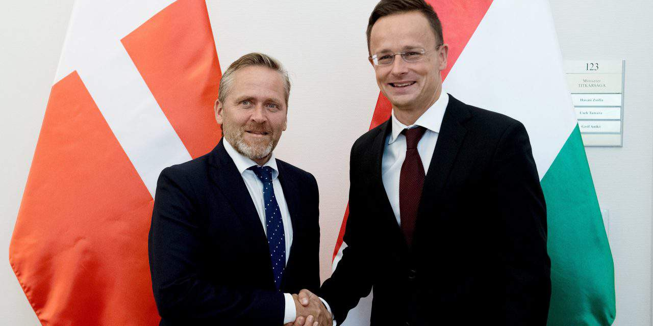 Denmark's foreign minister visits Hungary