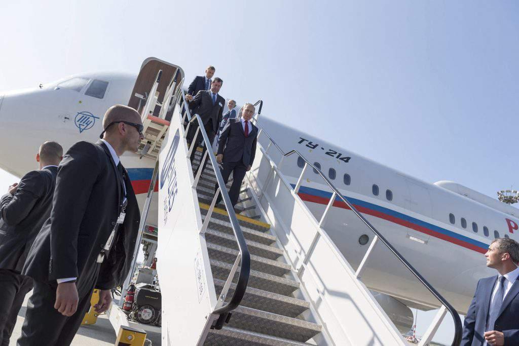 Putin in Budapest, photo: MTI