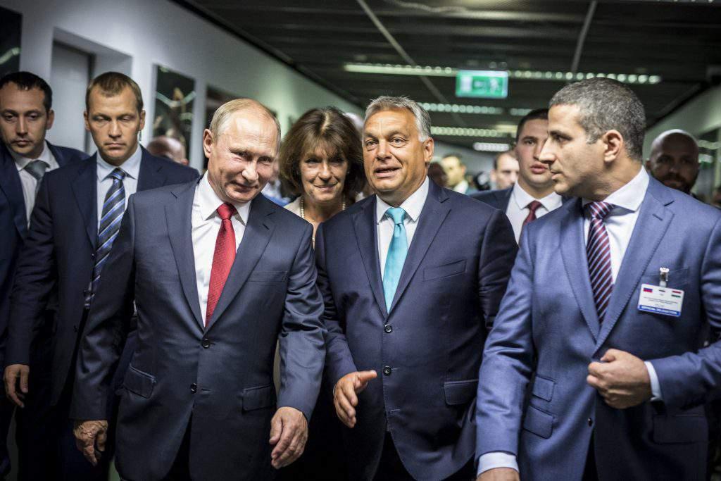 Hungary a pro-Putin state?