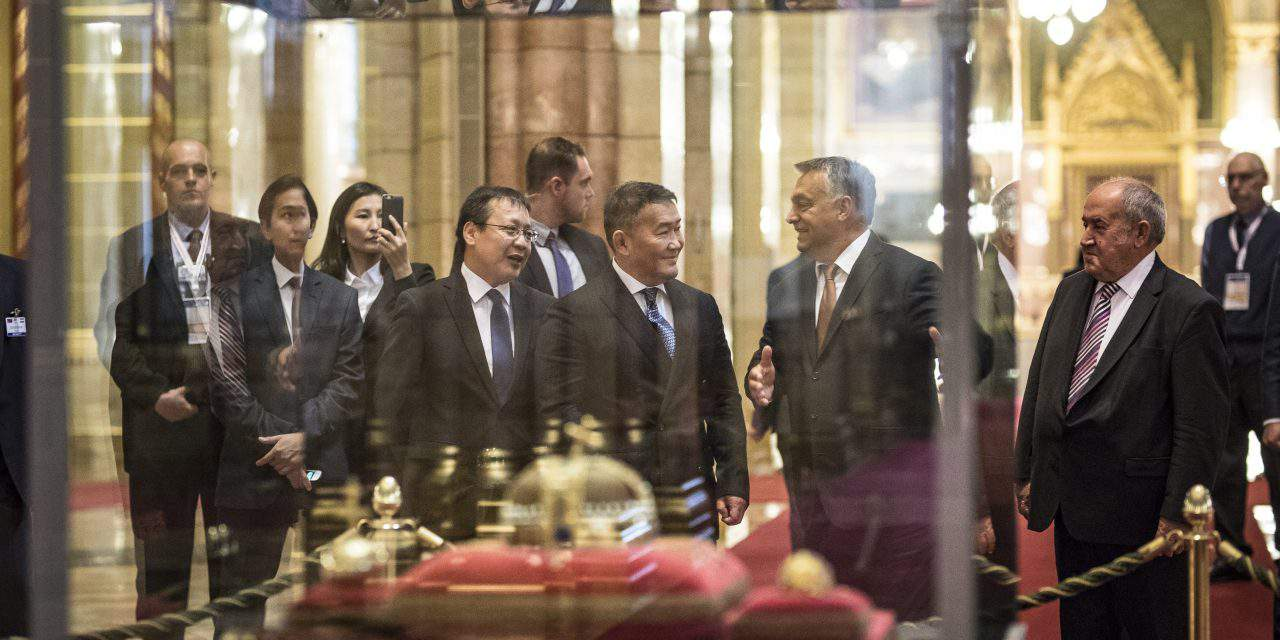 PM Orbán holds talks with Mongolian president