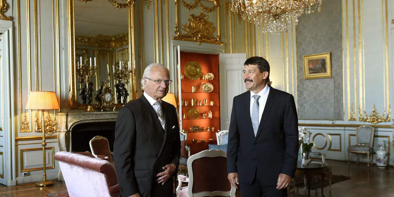 President Áder, king of Sweden discuss climate change in Stockholm