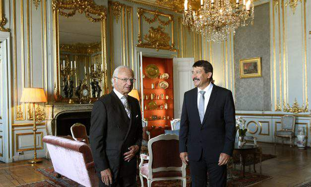 President Áder, king of Sweden discuss climate change in Stockholm