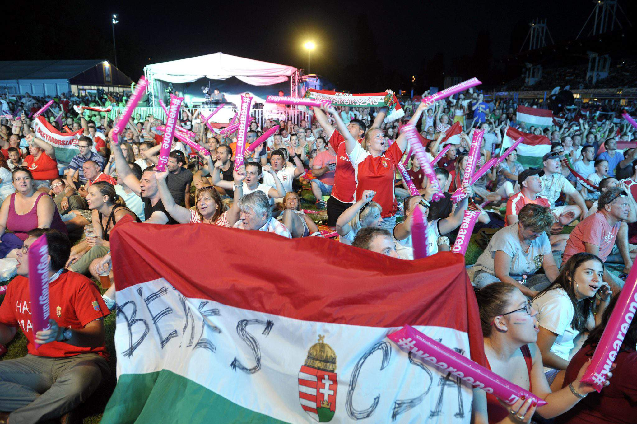Four fifths of Hungarians say hosting world aquatics championships was 'good idea'