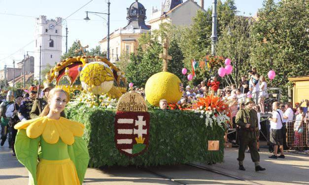 Debrecen Flower Carnival starts next week!