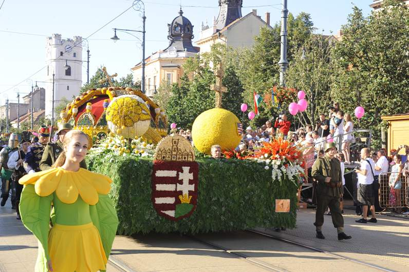 Debrecen Flower Carnival starts next week!