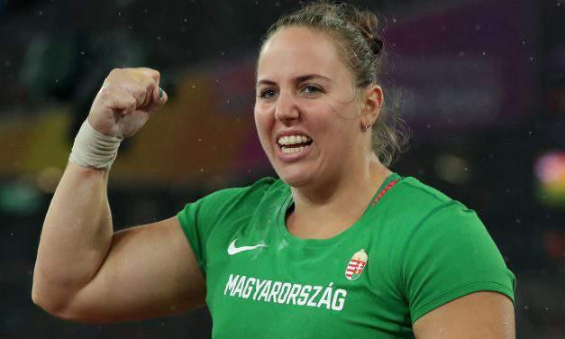 Anita Márton wins silver at the shot putting World Championships