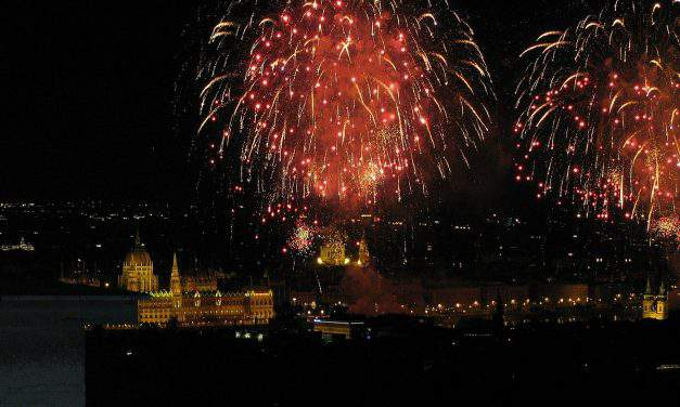 What do Hungarians celebrate on 20 August?