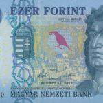 Upgrading the 1000 Hungarian forint banknote