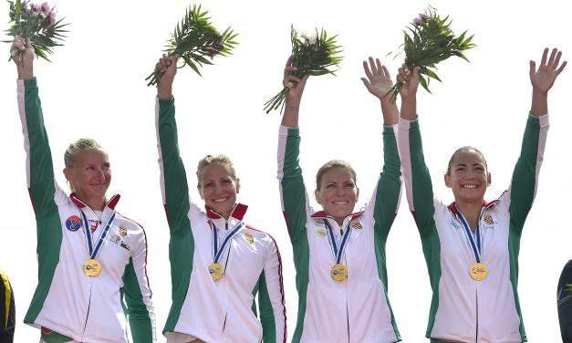 Team Hungary rocked the 2017 Canoe Sprint World Championships