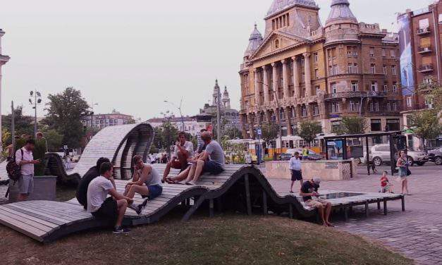 All eyes on us: here's the Hungarian smart bench