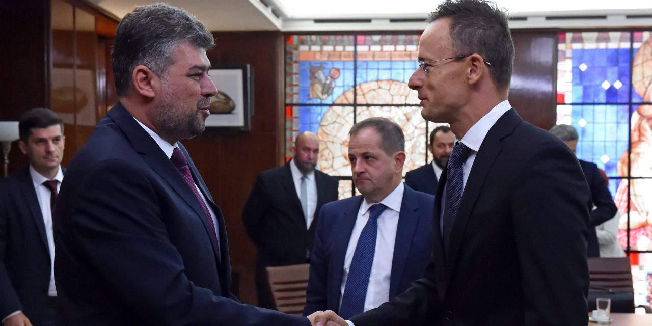 Hungary's FM discusses in Bucharest border crossing facilities, Hungarian institute