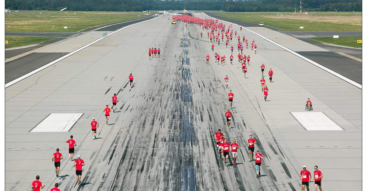 On this weekend: Runway Run at the Budapest Airport