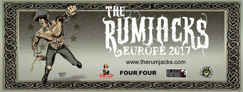 Aussie punk rock band The Rumjacks will performe in Hungary for three incredible shows