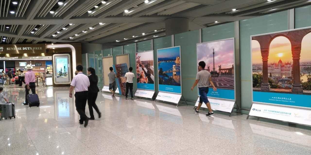 Budapest photo exhibition opens at the world's second largest airport