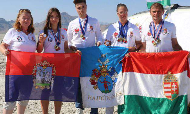 Team Hungary dominated the US World Ranking Competition in long range archery category