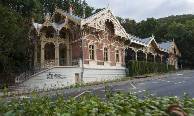 Past horse railway station wonderfully renewed – Photos