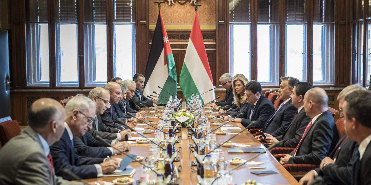 Jordan's Senate visits Hungary
