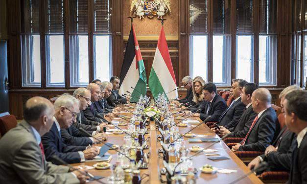 Jordan's Senate visits Hungary