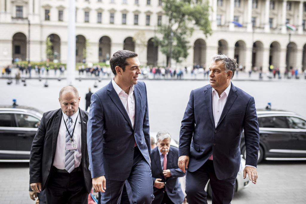 Prime Minister Viktor Orbán and Prime Minister of Greece Alexis Tsipras held talks on current challenges facing the European Union.
