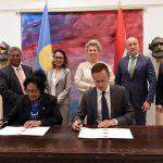 Hungary establishes diplomatic relations with Palau
