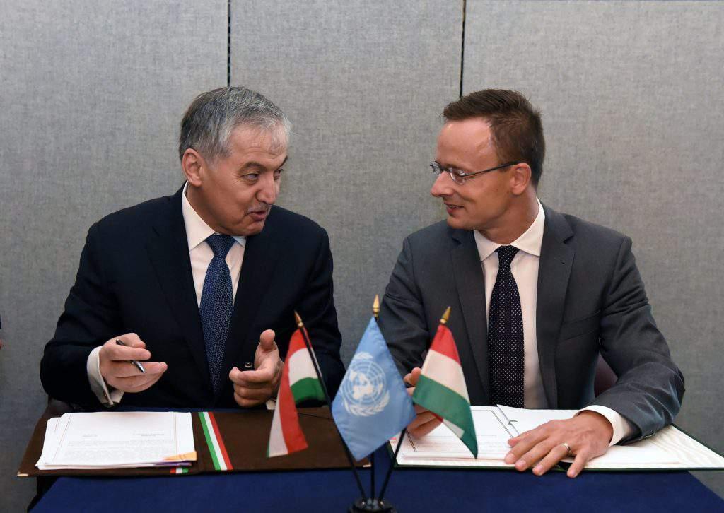 Tadjikistan Hungary