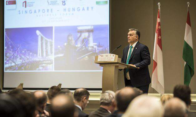 Orbán at Singapore business forum: 'Central Europe is the future'