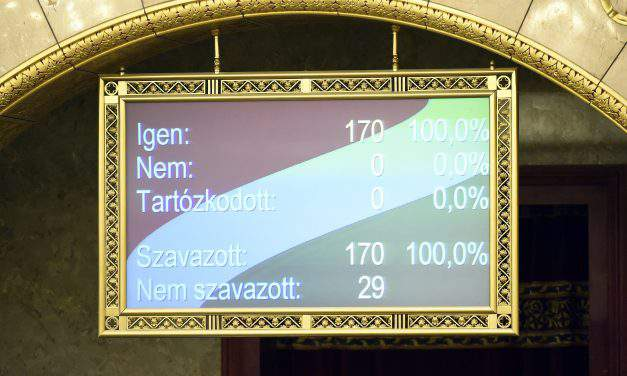 Hungarian parliament adopts cross-party decree condemning Ukrainian education law