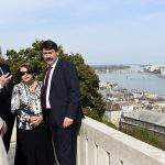 Governor-General of Australia Peter Cosgrove visits Hungary