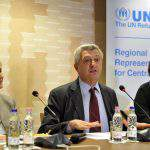 Security, protection of refugees not incompatible, says UNHCR chief in Budapest