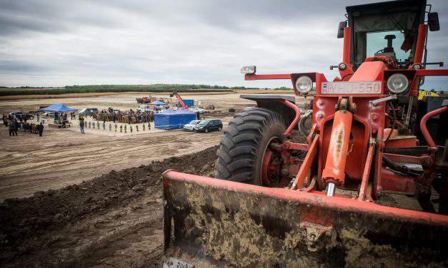 Cornerstone-laying ceremony of a new waterfowl plant was held in Mélykút