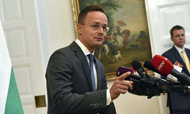 Ukraine education law 'stab in the back' for Hungary, says foreign minister
