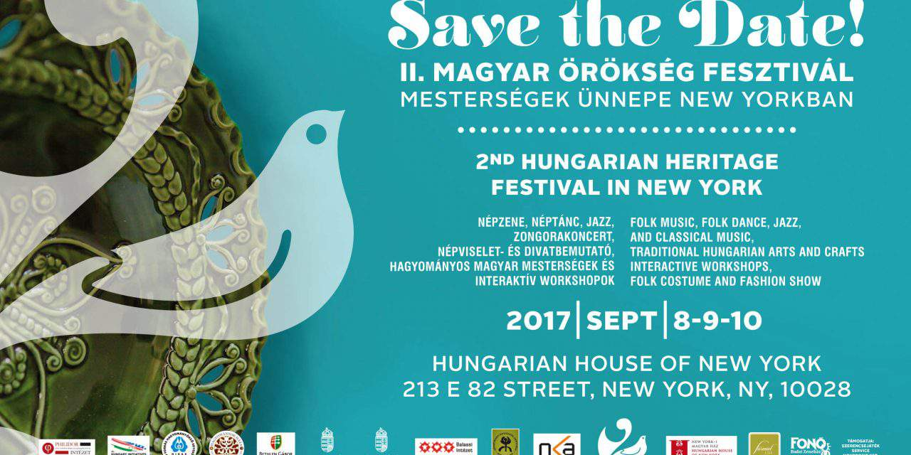 On this weekend: 2nd Hungarian Heritage Festival in New York