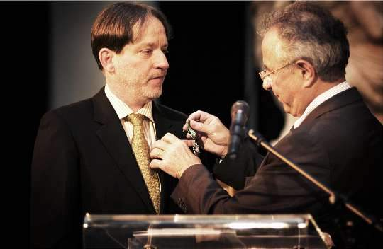 The director of the Hungarian Museum of Fine Arts decorated with the French Legion of Honour