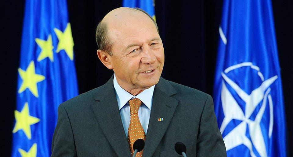 Former President Băsescu calls to boycott Romanina's MOL gas stations over a map of Szeklerland