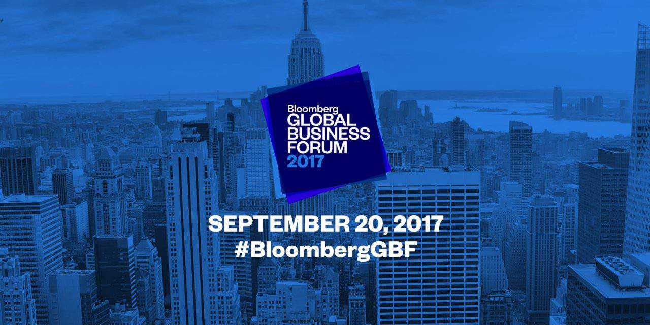 Hungarian president attends Bloomberg Inaugural Global Business Forum in NY
