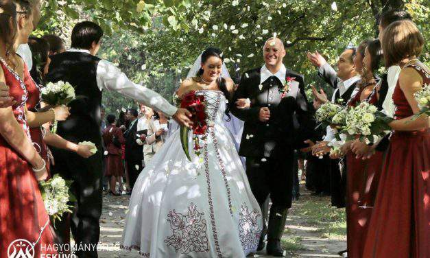 A 21st century traditional Hungarian wedding: punches flying, pálinka flowing
