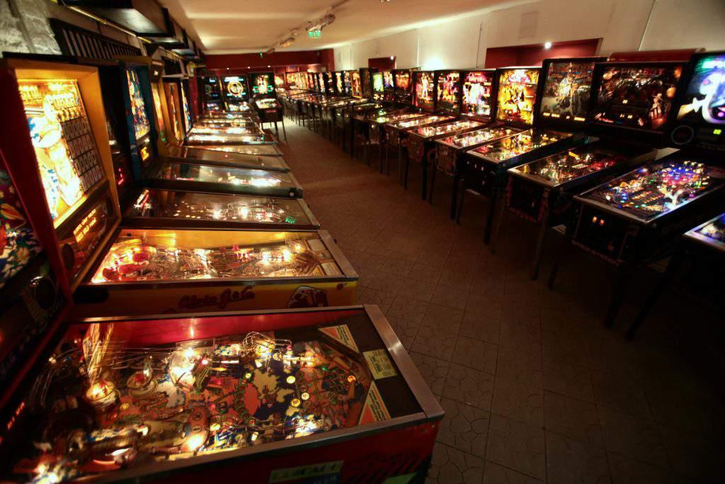 pinball flipper museum múzeum