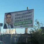 jobbik party billboard
