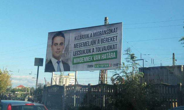 Hungary's authoritarian regime attemps to muffle opposition chanllanger, says Jobbik