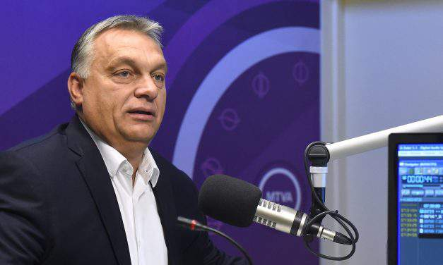 "Orbán called on Hungarians to participate in the government's public survey on the ""Soros plan"""