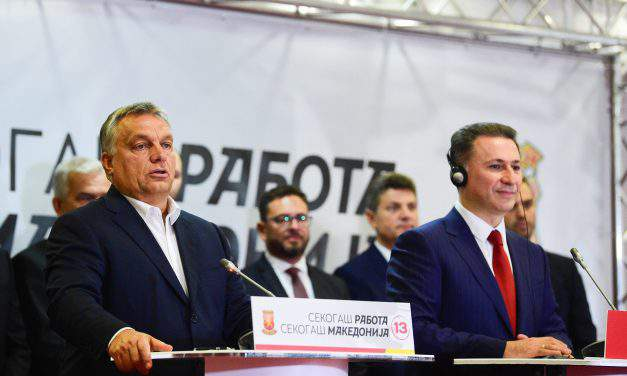 Orbán in Macedonia: Hungary, Europe's interest that Balkan migrant route stays closed