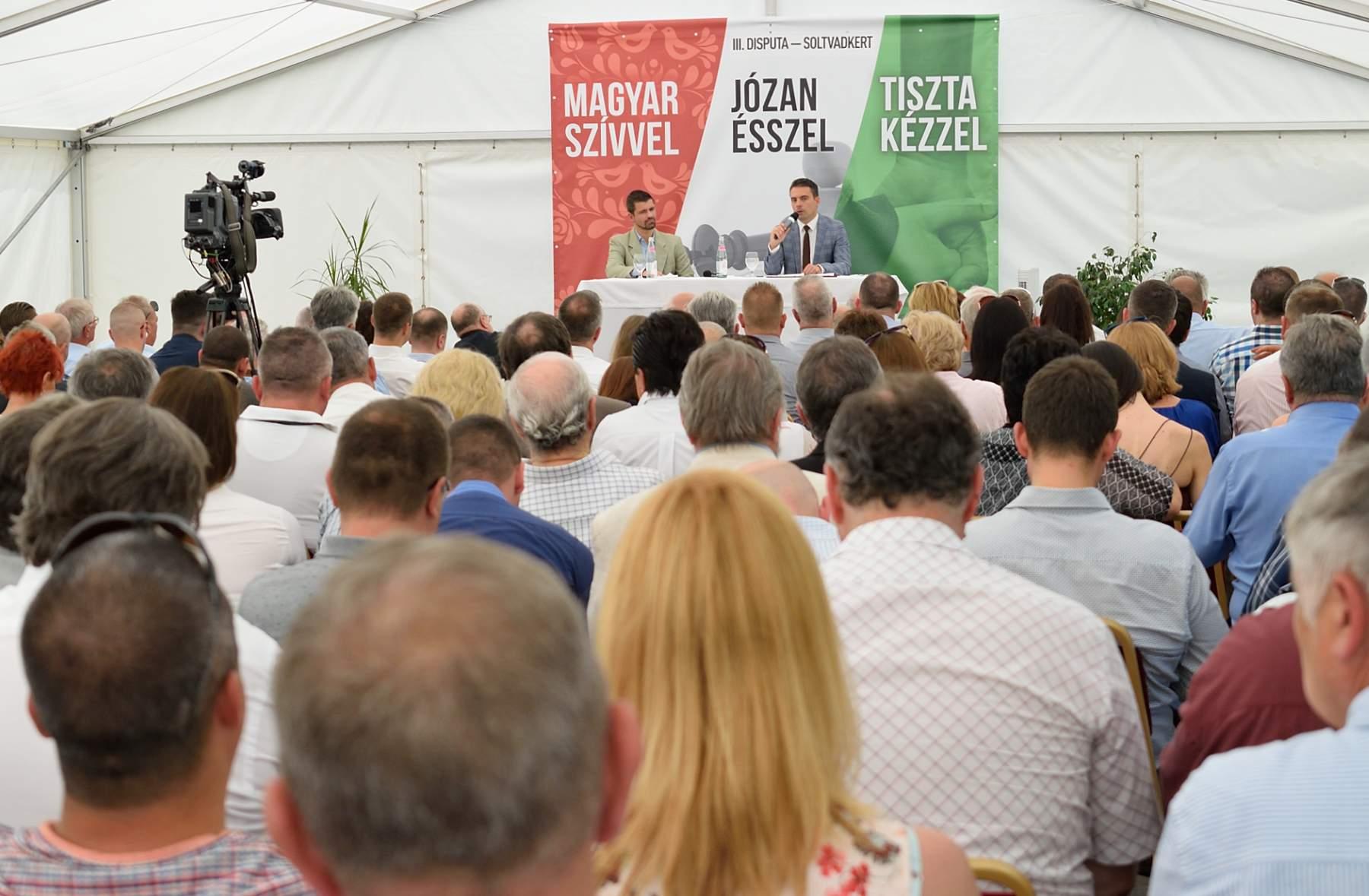 Jobbik disputa/dispute