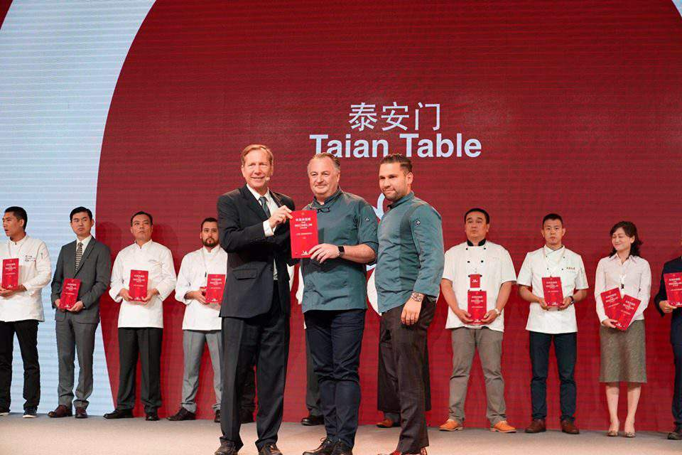 A Hungarian chef's restaurant awarded with a Michelin star in China