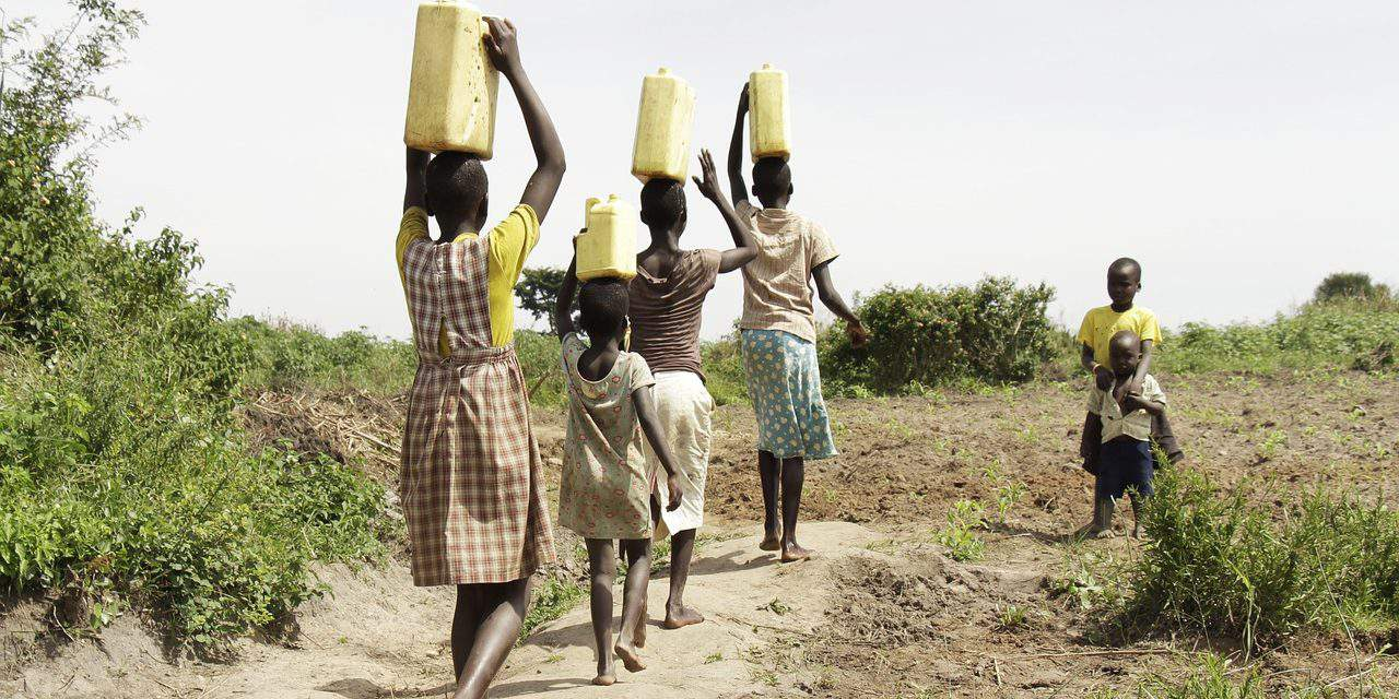 Hungarian high school students help in Uganda