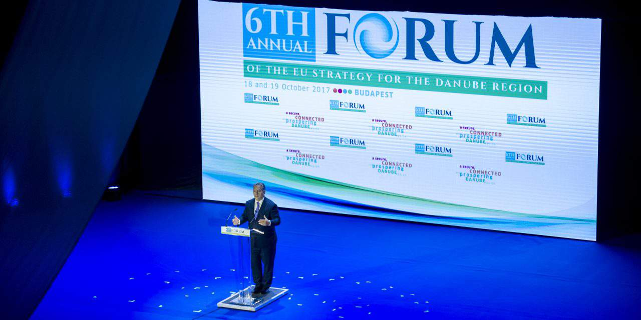 Orbán opens 6th Danube strategy forum