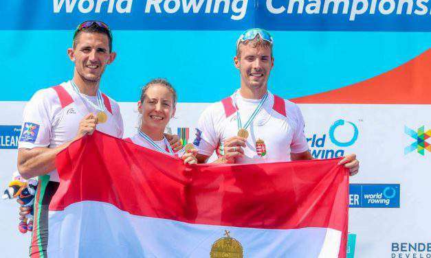Hungarian rowing team triumphing in Florida
